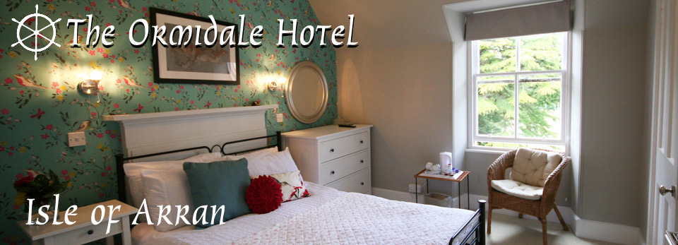 B and B accommodation at the Ormidale hotel