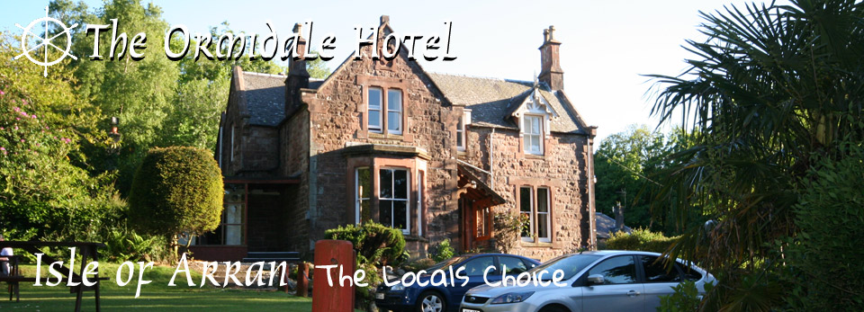 Ormidale Hotel in Brodick on the Isle of Arran