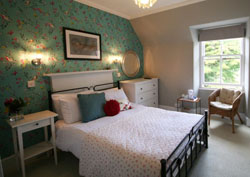 Doublebed room at the Ormidale hotel in Brodick